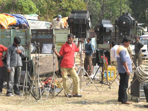 Скучающие техники / Фото из Индии
