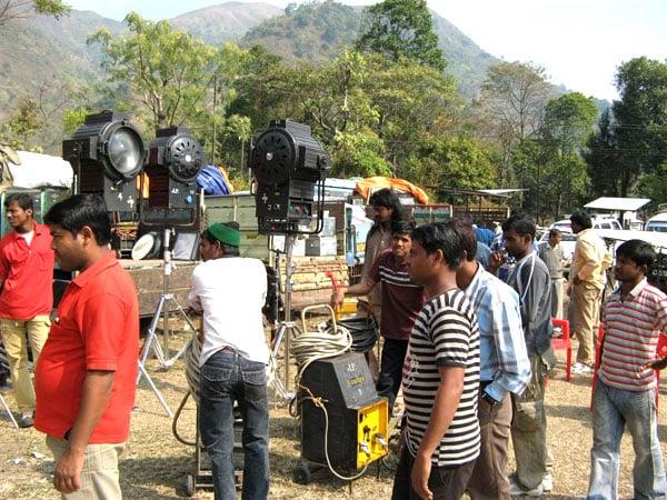 В эпицентре действий Болливуда / Фото из Индии