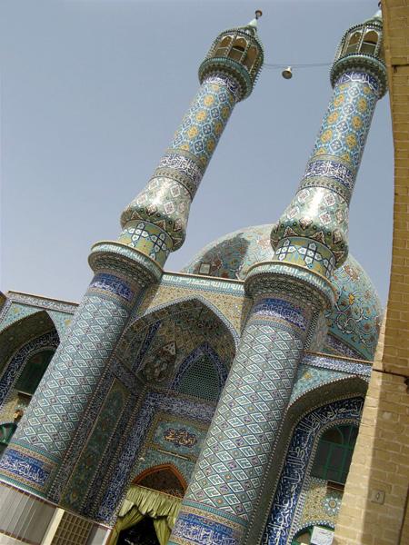 Одна из многочисленных мечетей Йезда / Фото из Ирана