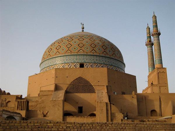Мечети старой части Йезда / Фото из Ирана