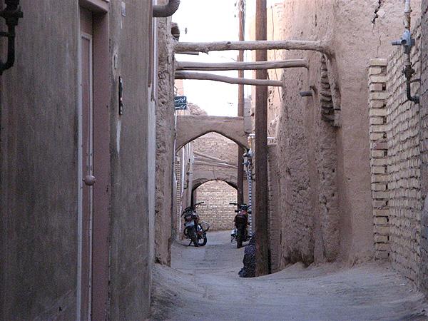 Улочки старой части Йезда / Фото из Ирана