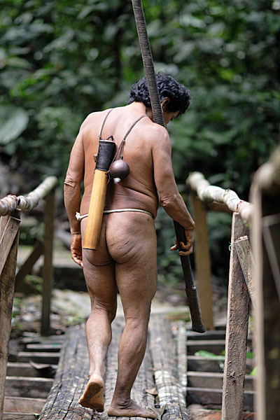 Аурани - последнее дикое племя Эквадора / Фото из Эквадора
