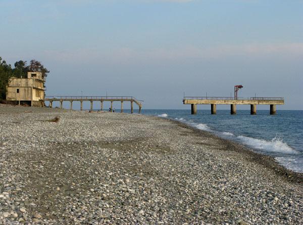Черноморское побережье Абхазии / Фото из Абхазии