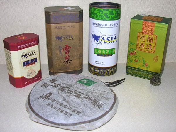 Лучшие сорта чая - замечательный сувенир с острова Хайнань / Фото из Китая
