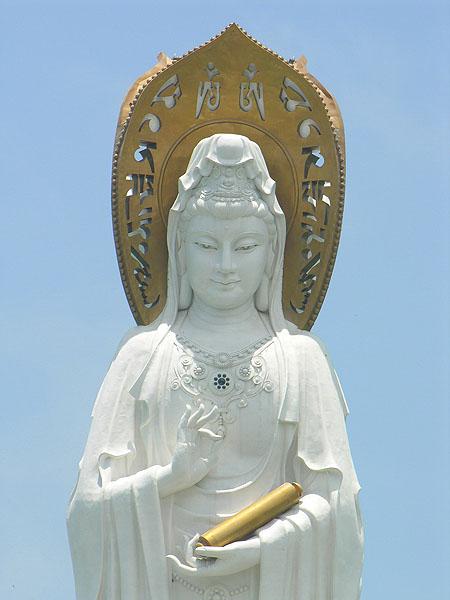 Богиня милосердия Гуань Инь / Фото из Китая