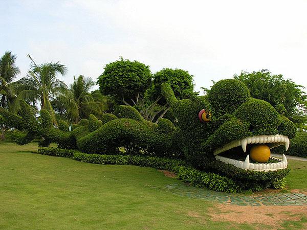"Дракон, парк ""Край света"" / Фото из Китая"