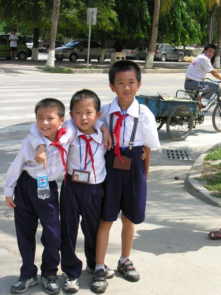 Китайские ребятишки, Хайнань / Фото из Китая