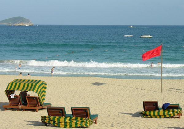 Пляж отеля Marriot на острове Хайнань / Фото из Китая