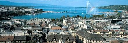 Панорама Женевы