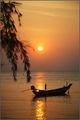закат на Пангане / Камбоджа