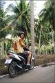 автор и мотобайк / Камбоджа
