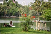 Лумпини парк, Бангкок / Камбоджа