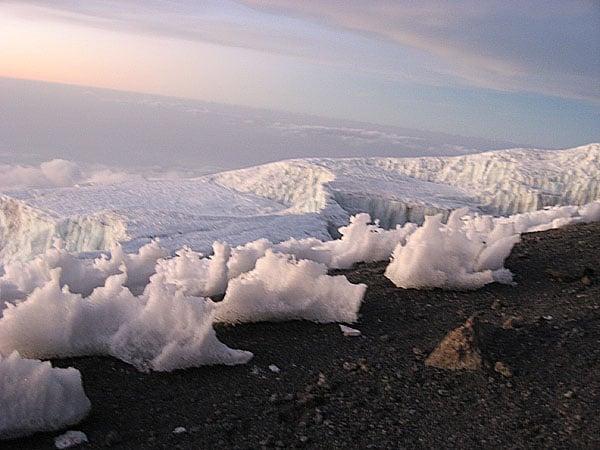 Победная прямая к вершине Килиманджаро / Фото из Танзании