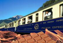 Швейцарский шоколадный поезд