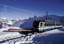 Поезда швейцарской Ривьеры