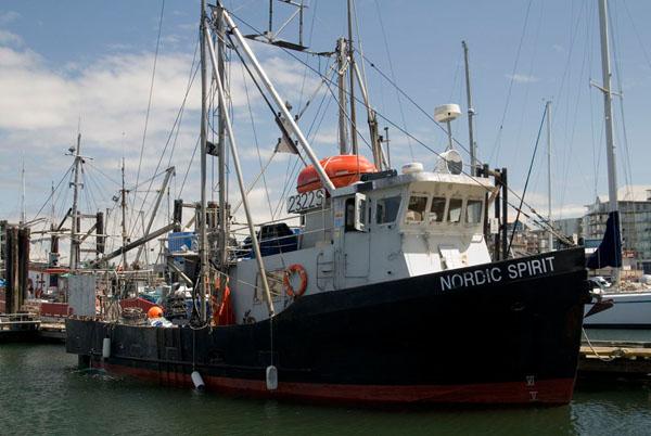 Рыбацкая пристань в городе Виктория / Фото из Канады