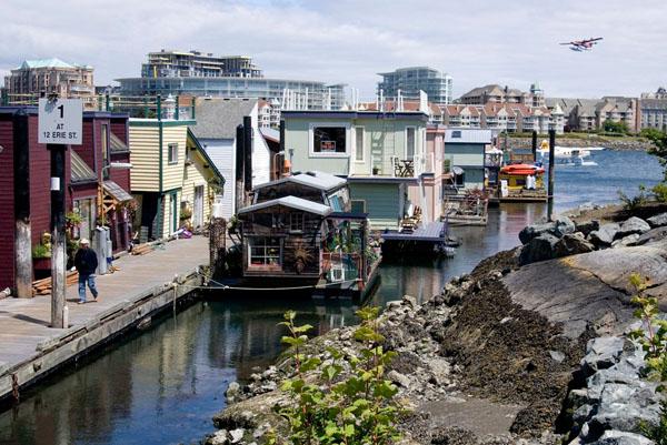 Рыбацкая пристань - престижный жилой район Виктории / Фото из Канады