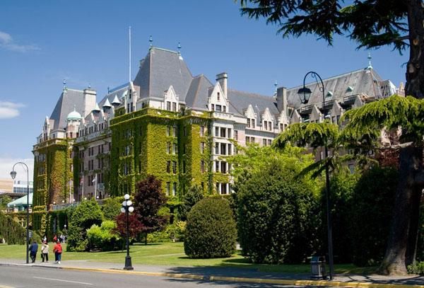 Отель во Внутренней бухте, Виктория / Фото из Канады