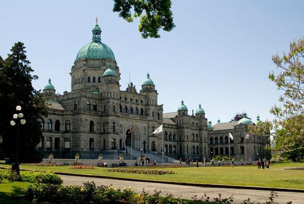 Здание парламента, Виктория / Фото из Канады