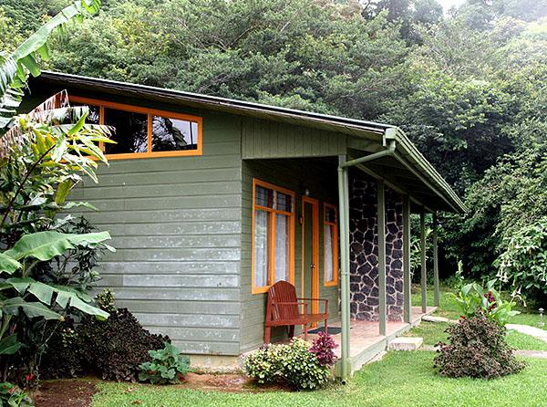 Наше бунгало в гостинице в Монтеверде / Фото из Коста-Рики