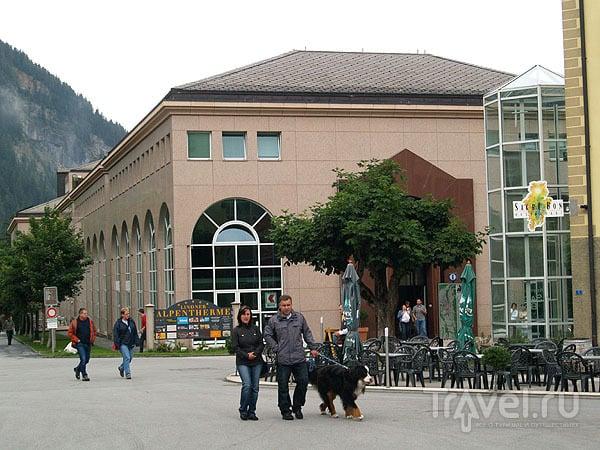 Термальный комплекс Lindner Alpentherme / Фото из Швейцарии