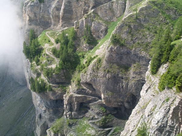 Дорога в небо / Фото из Швейцарии