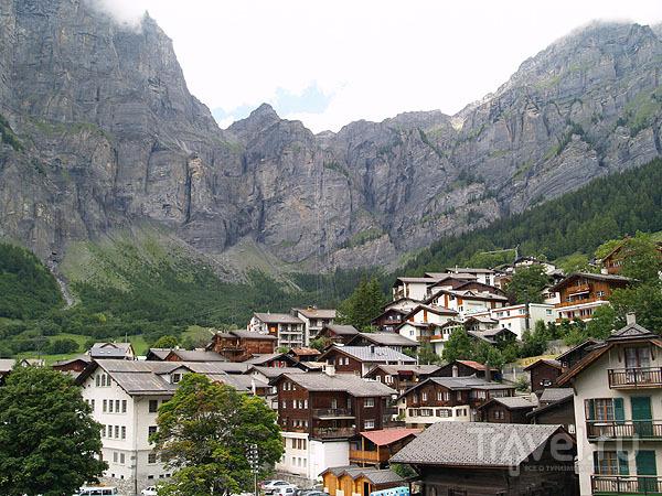 Альпийский Лойкербад / Фото из Швейцарии