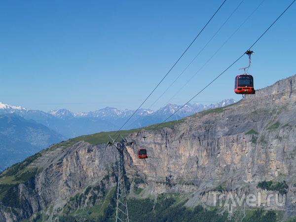 Подъем на гору Торрент / Фото из Швейцарии