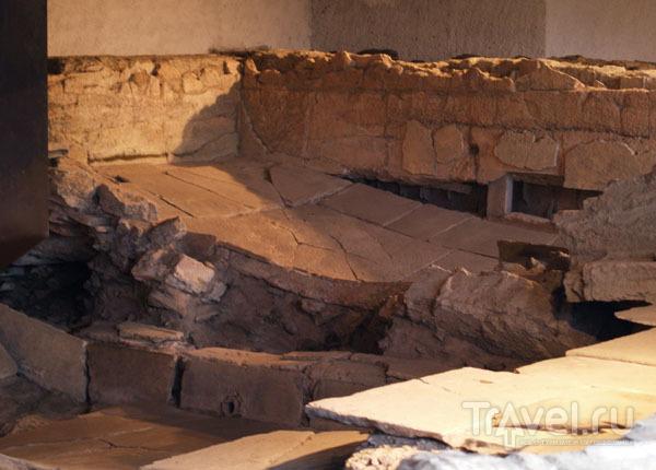 Развалины римских терм / Фото из Швейцарии