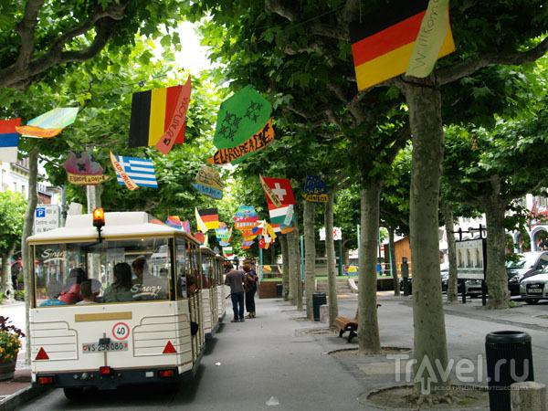 Туристический вагончик в Мартиньи / Фото из Швейцарии