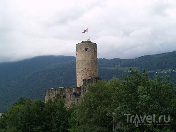 Крепость Батиа / Фото из Швейцарии