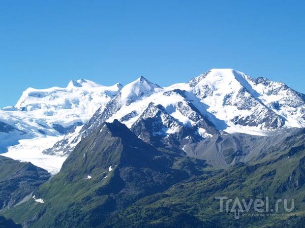 Вид на Гран-Комбен / Фото из Швейцарии