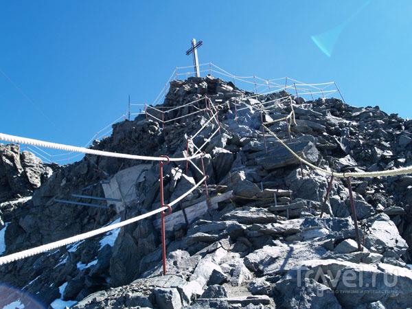 Самая высокая точка Монт-Форта / Фото из Швейцарии