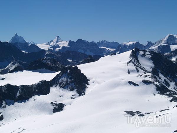 Вид на Маттерхорн / Фото из Швейцарии
