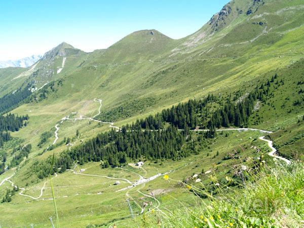 Дорожки в горах Вербье / Фото из Швейцарии