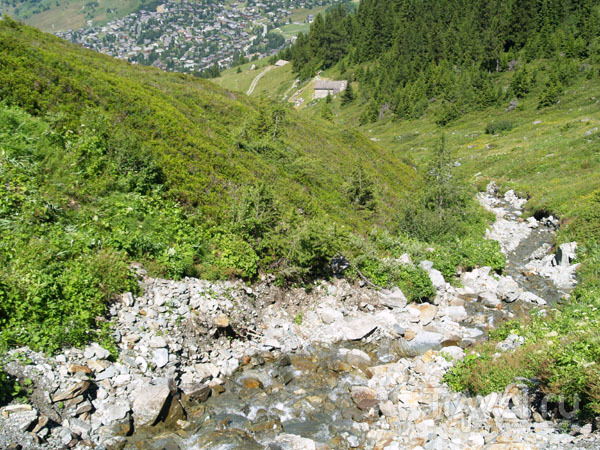 Горная речка / Фото из Швейцарии