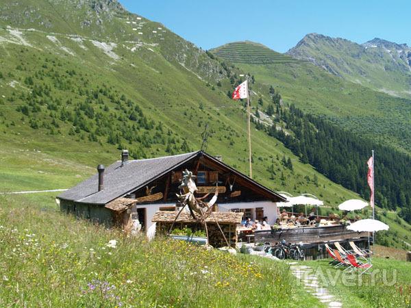 Ресторан-шале / Фото из Швейцарии
