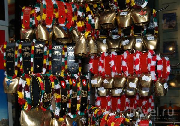Швейцарские сувениры / Фото из Швейцарии