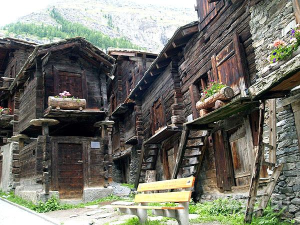 Старый Церматт / Фото из Швейцарии