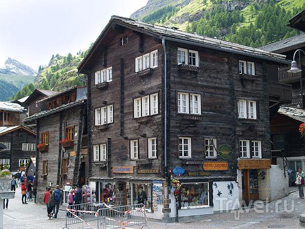 Жилая часть Старого города / Фото из Швейцарии