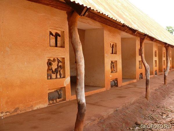 Дворец в Абомее включён в Список Всемирного наследия ЮНЕСКО / Фото из Бенина