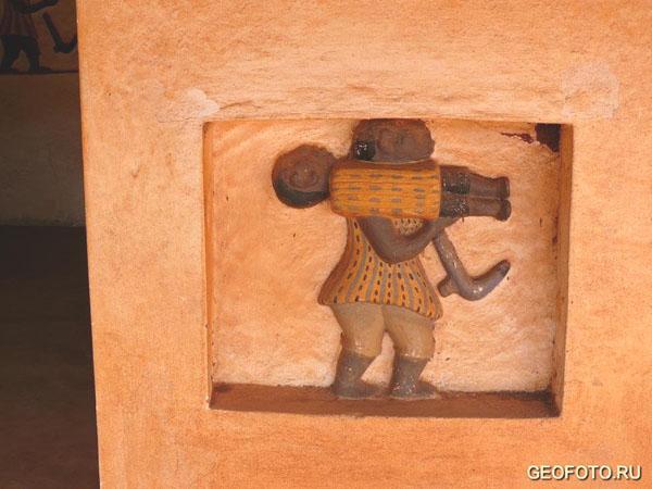 Очередная сцена из истории Дагомеи / Фото из Бенина