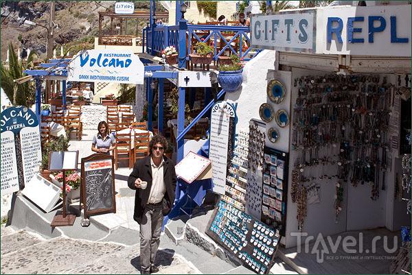 Улочки Тиры / Фото из Греции