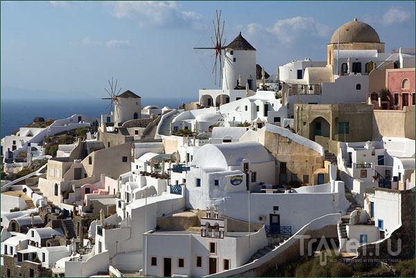 Ия – самый романтический городок Санторина / Фото из Греции