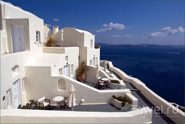 Отель с видом на кальдеру / Фото из Греции