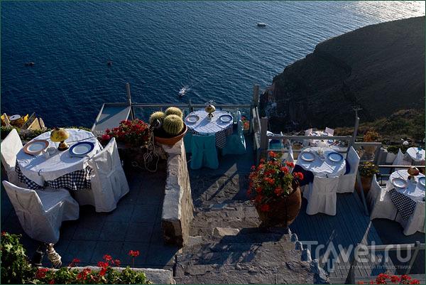 Ресторан при отеле / Фото из Греции