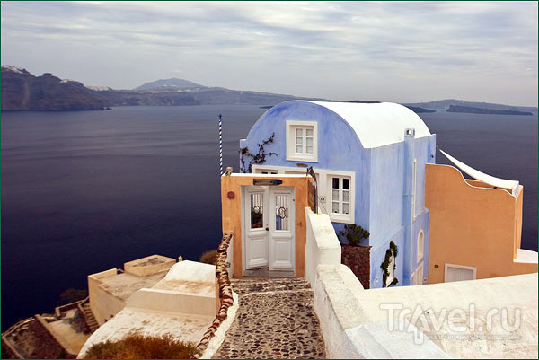 Отель для новобрачных в Ие / Фото из Греции