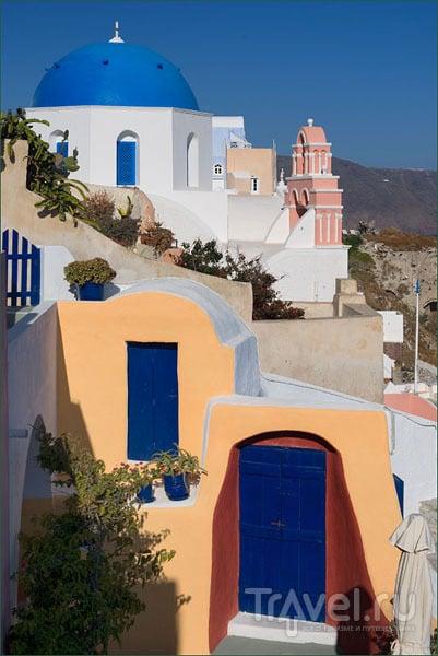 Разноцветная Ия / Фото из Греции