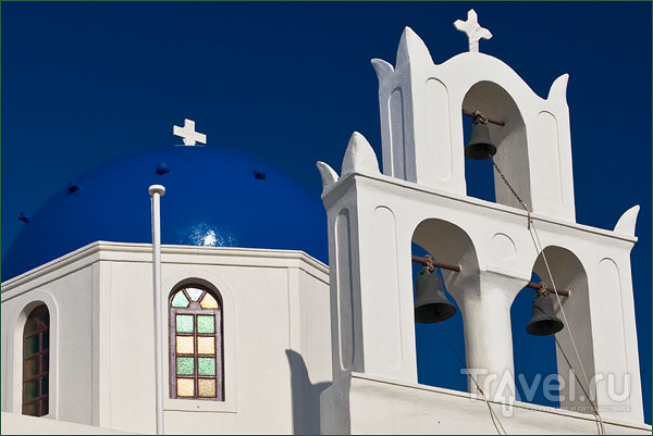 Православный храм в Ие / Фото из Греции