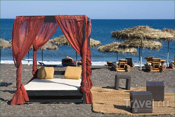 На пляже Перисса / Фото из Греции